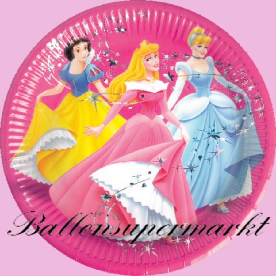 Ballonsupermarkt princess party set for Kindergeburtstag party set