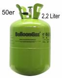 Einwegflasche, 2,245 Liter Heliumgas