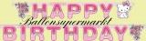 Geburtstagsgirlande Kindergeburtstag, Charmmy Kitty, Happy Birthday