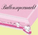 Tischdecke mit Charmmy Kitty, Partytischdecke zum Kindergeburtstag, Motiv: Charmmy Kitty