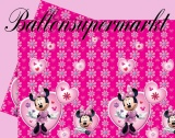 Tischdecke mit Mini Maus, Partytischdecke zum Kindergeburtstag, Motiv: Mini Maus