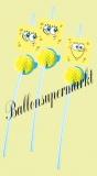 Trinkhalme Spongebob zum Kindergeburtstag, 6 Stück